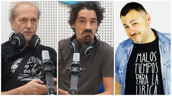 Román García, Fran Ropero y Juan Antonio Sánchez JASS
