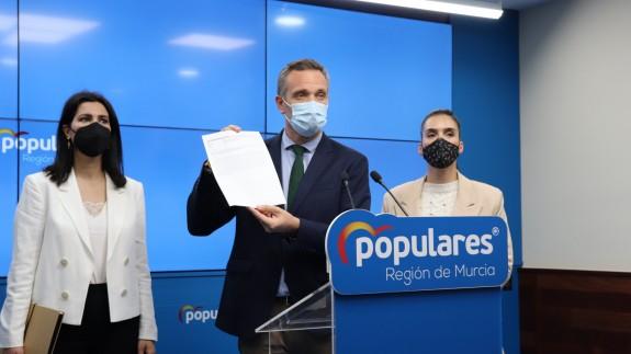 Joaquín Segado en rueda de prensa