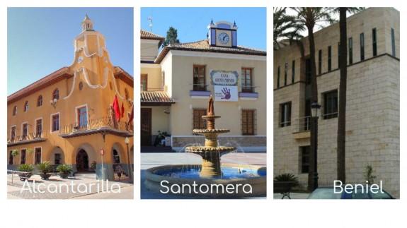 Los ayuntamientos de Alcantarilla, Santomera y Beniel no publicitan sus resoluciones
