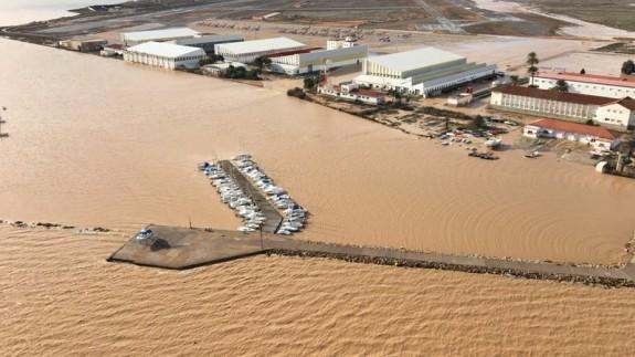 Inundaciones Los Alcázares en 2016