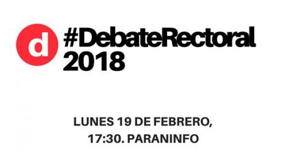 Debate rectoral UMU 2018