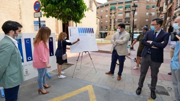 El Ayuntamiento de Murcia peatonalizará 10 ejes como experiencia piloto del plan 'Murcia Peatonal'