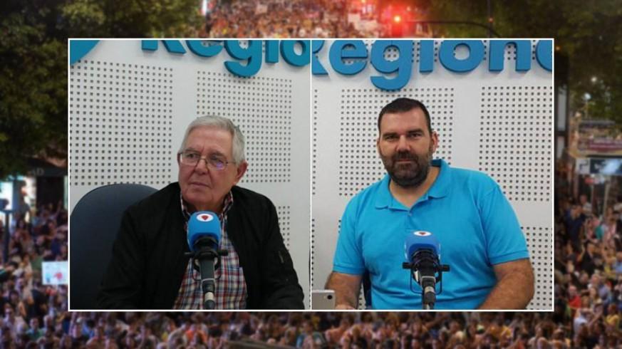 Joaquín Contreras y Antonio Hernández, de la Plataforma Pro Soterramiento