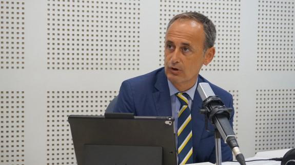 Javier Celdrán, consejero de Presidencia y Hacienda