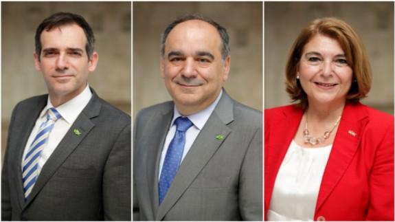 Los tres diputados de VOX suspendidos de militancia seguirán en el grupo parlamentario