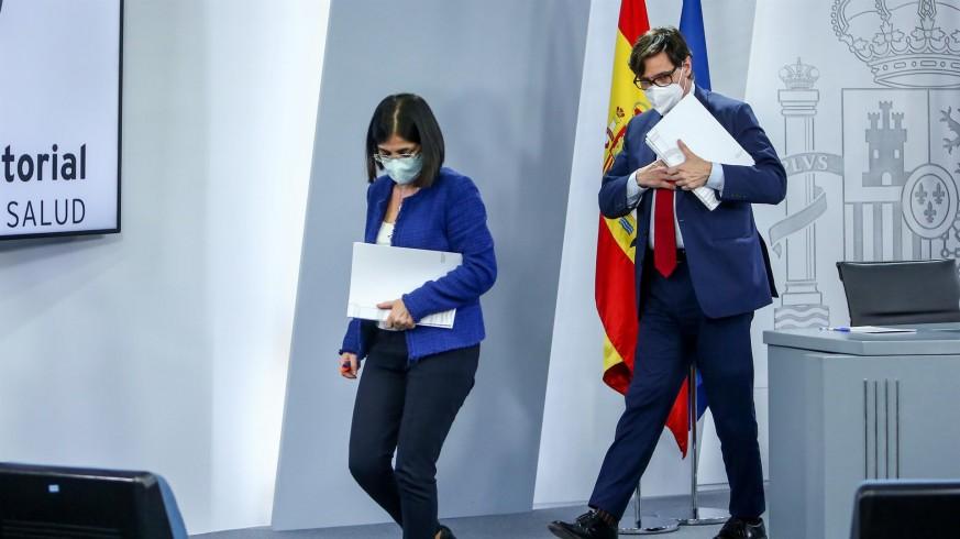Carolina Darias y Salvador Illa en una imagen de archivo