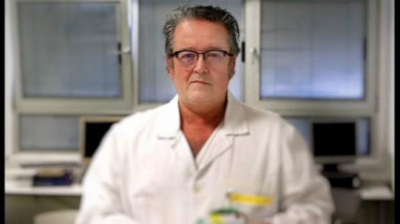 El doctor Pascual Piñera, jefe de Urgencias en el hospital Reina Sofía. ORM