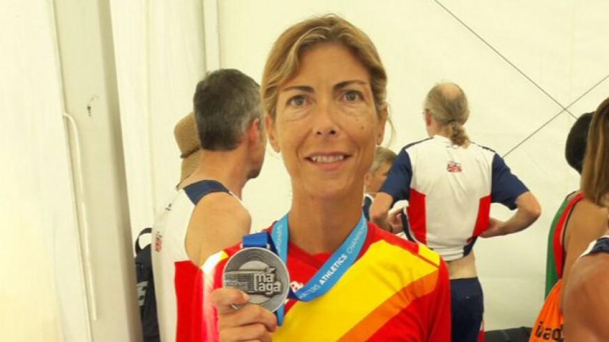 Mercedes Merino, atleta, murciana.