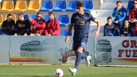 Rafa Páez, en su etapa en el UCAM Murcia CF
