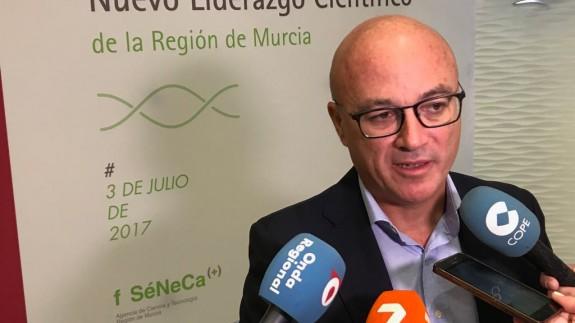 Juan Hernández, consejero de Empleo, Universidad y Empresa