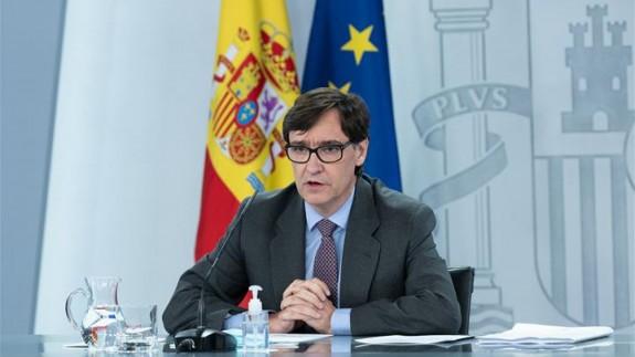 Salvador Illa (archivo). MONCLOA
