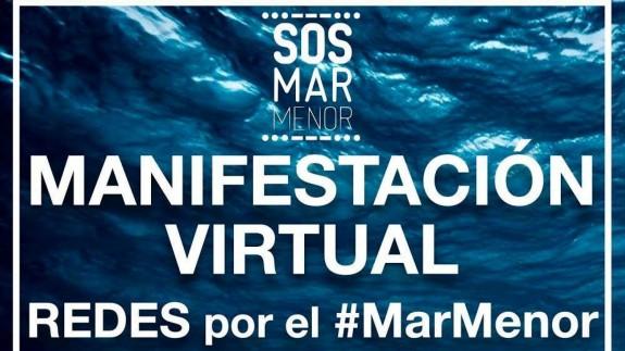 EL ROMPEOLAS. Balance de la manifestación 'virtual' por el Mar Menor