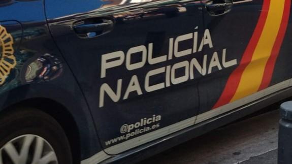 Vehículo oficial de la Policía Nacional. EUROPA PRESS