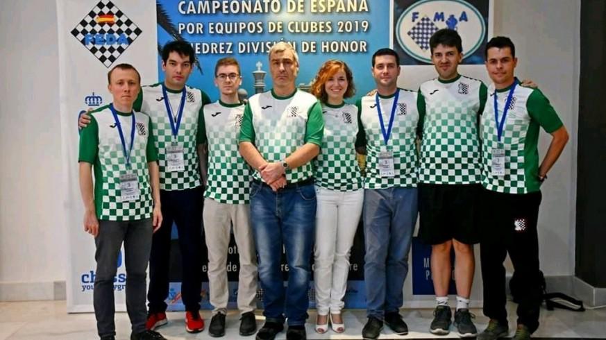 El Club de Ajedrez Beniaján, bronce en el nacional por equipos de 2019