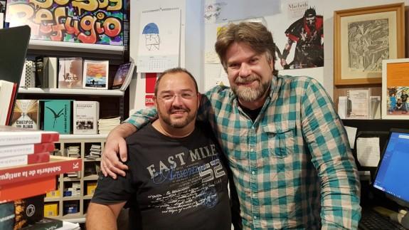 Jesús Tauste y Vicente Velasco en 'La Montaña Mágica'