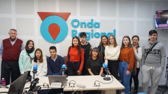 ONDA ABIERTA | Visita del IES Saavedra Fajardo de Murcia