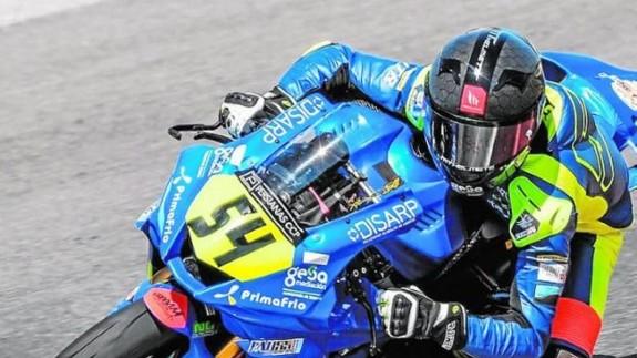 Fermín Aldeguer gana también en Xerez la prueba del Europeo Superstock 600