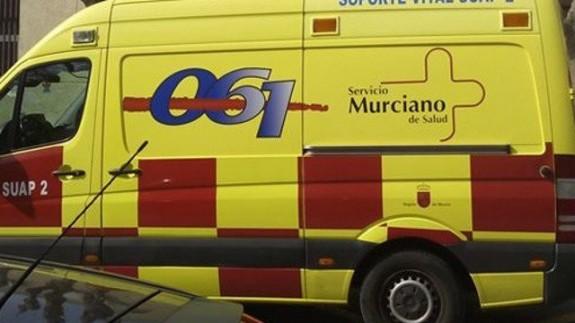 Una ambulancia del servicio murciano de salud. EP