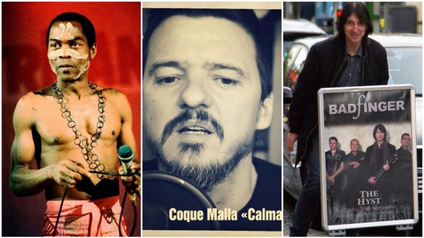 Fela Kuti, Coque Malla y Badfinger