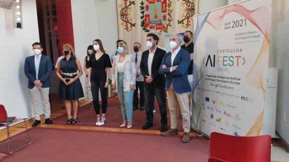 Presentación festival de Inteligencia Artificial Google Developers. FOTO: ORM