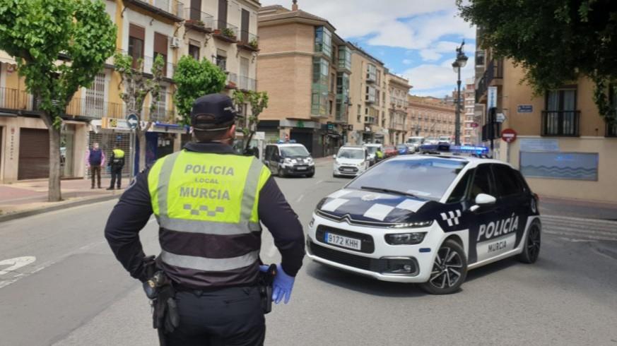 La Policía Local de Murcia activa el plan 'Murcia Segura' con 53 agentes diarios y 17 vehículos