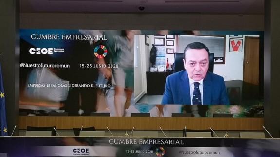 Albarracín reivindica la continuidad de los ERTES y la vigente reforma laboral para salir de la crisis en la cumbre de la CEOE