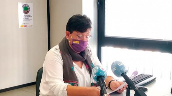 Victoria Molina, presidenta de FADEMUR en la Región