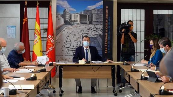 omisión de Seguimiento COVID-19 del Ayuntamiento de Murcia. AYTO DE MURCIA