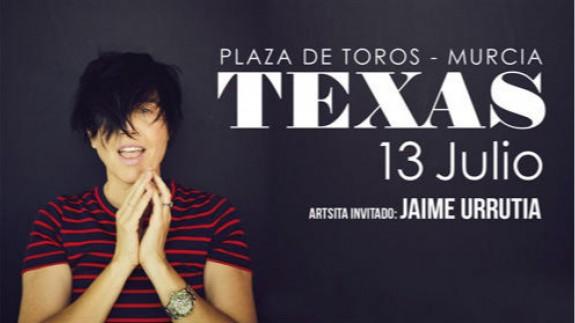 Cartel Texas en Murcia
