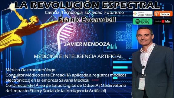 Javier Mendoza en La Revolución Espectral