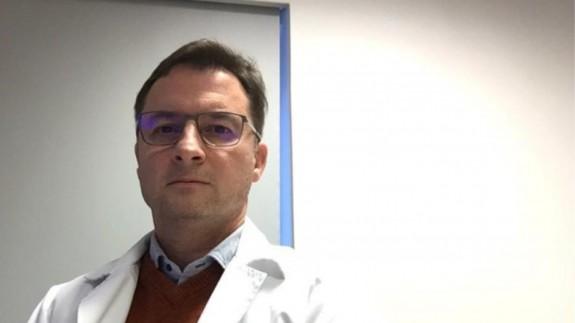 El doctor Juan Luis Delgado