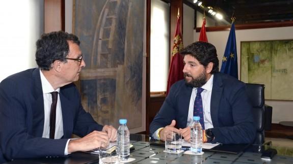 reunión entre López Miras y Ballesta