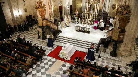 Funeral por Gabriel en la catedral de Almería