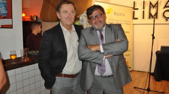 Ramón García del Real y Fernando Vera