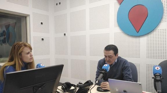 Jose María Albarracín, presidente de CROEM, en ek programa Afectos Especiales