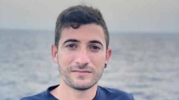 Moisés Navarro en su foto de perfil de Twitter