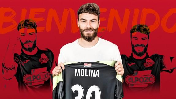 Imagen promocional del fichaje de Molina por ElPozo Murcia