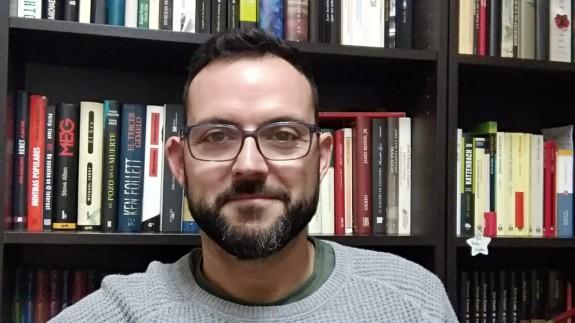 Emilio Soler en su casa de Blanca