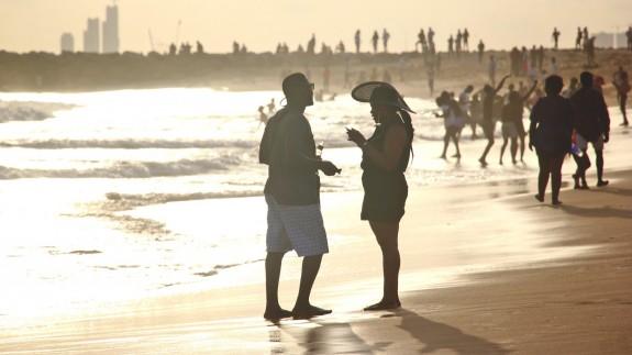 Una de las playas de Lagos