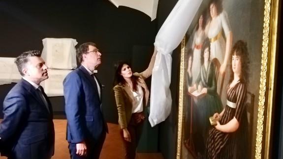 """Presentación de la exposición """"Floridablanca. La sombra de un rey"""". CARM"""