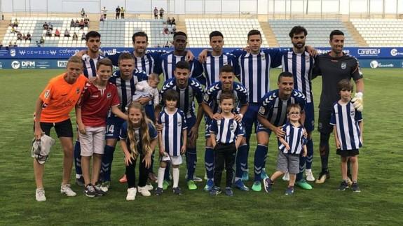 Lorca FC en uno de sus partidos