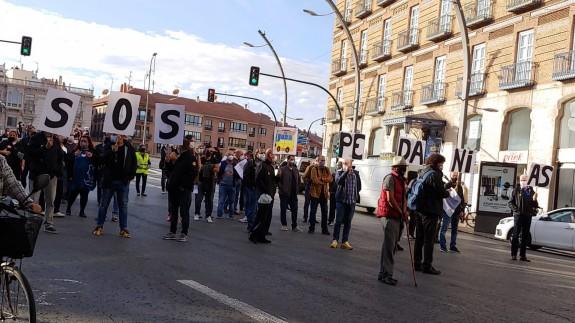 Manifestación de LATBUS