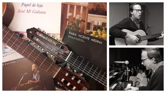 Jose Maria Galiana, musico, y escritor al que su sobrino, el periodistas y músico, Ismael Galiana, prepara un homenaje.