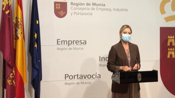 Ana Martínez Vidal este martes en rueda de prensa