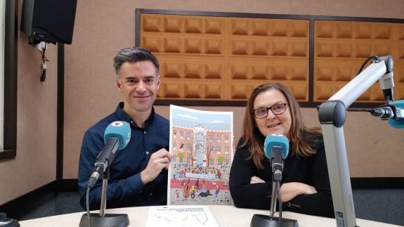 Jose Cano y Teresa Allepuz en Onda Regional