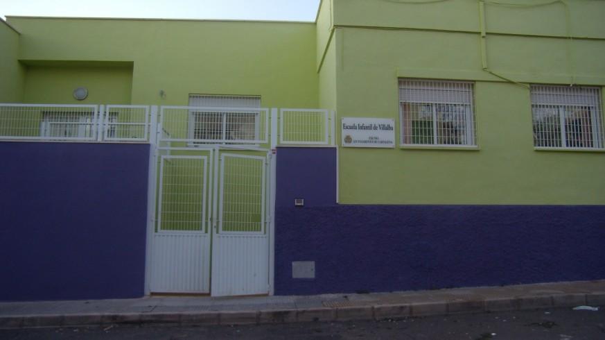 Escuela Infantil de Villalba. AYUNTAMIENTO DE CARTAGENA