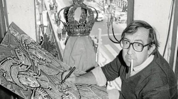 José María Párraga en una foto del diario La Verdad