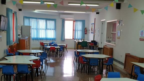 Aula de un centro educativo de la Región. ORM