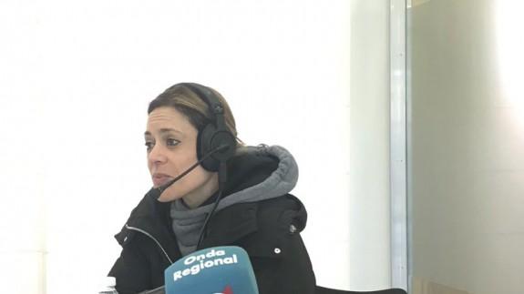 Lara Fernández en el MUSAX