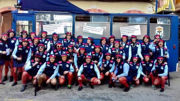 Peña 'El Equipo B' de Águilas en 2018
